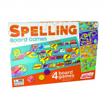 4 Spelling Board Games