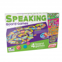 4 Speaking Board Games