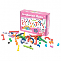 Magnetic Rainbow Punctuation Marks