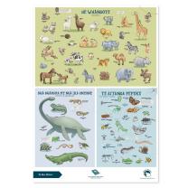 Animals Te Reo Chart