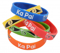 Ka Pai Wristbands - Pack of 10
