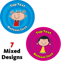 Kids Personalised Stickers