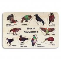 Birds of NZ Wooden Puzzle