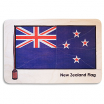 NZ Flag Wooden Puzzle