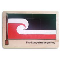 Maori Flag Wooden Puzzle