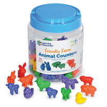 Friendly Farm Animal Counters