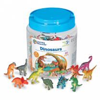 Realistic Dinosaur Counters