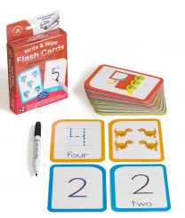 Wipe Clean Flashcards - Numbers 0 to 30