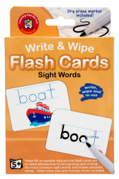 Wipe Clean Flashcards - Sight Words