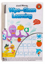 Wipe Clean Activity Book - First Words