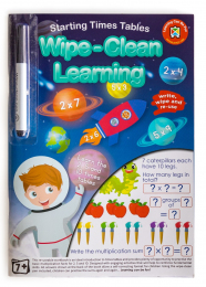 Wipe Clean Activity Book - Starting Times Tables