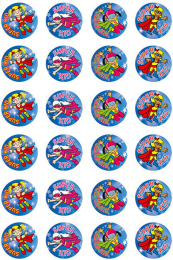 Super Kids-girl Stickers