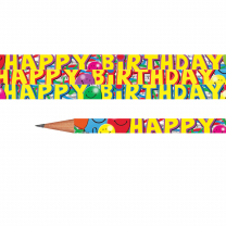 Happy Birthday Balloons Pencils