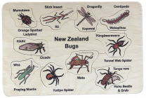 NZ Bugs Wooden Puzzle