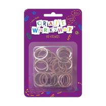 Craft Split Keyrings - Pack of 30