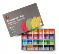 Oil Pastels Jumbo Classroom Set - Set of 432