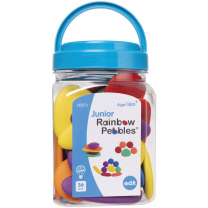 Junior Rainbow Colours Pebbles