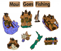 Maori Magnetic Maui Goes Fishing