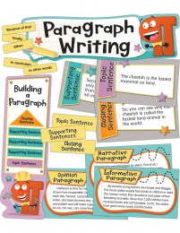 Paragraph Writing Mini Bulletin Board