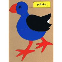 Pukeko Wooden Puzzle