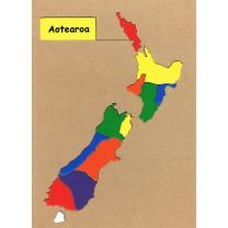 Aotearoa Wooden Puzzle