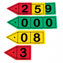 Place Value Arrows Decimal - 30 pieces