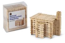 Natural Construction Popsticks - Pack of 300