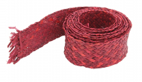 Red Woven Trimmer - 7.5cm wide