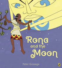Rona and the Moon Book