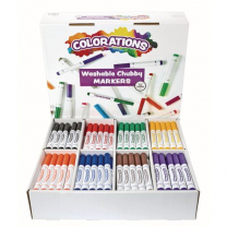 Washable Chubby Markers - Pack of 200