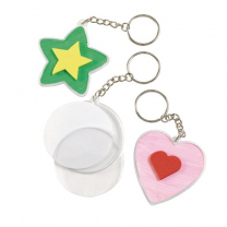 Create Your Own Keychains - Pack of 12