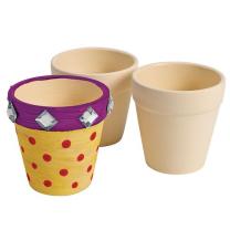 Dyo Ceramic Flower Pots - Set of 12