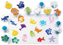 Sea Life Easy-Grip Stampers - Set of 14