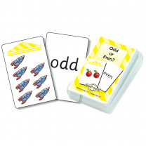 Odd and Even Numbers Chute Cards