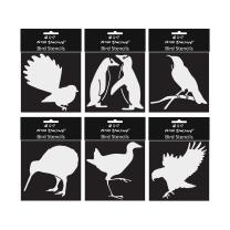 NZ Bird Stencils