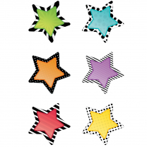 Bold & Bright Stars Mini Accent Cards