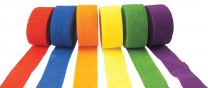 Crepe Paper Streamers - Set of 6
