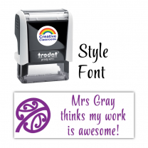 Large Personalised Stamps