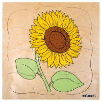 Growth Puzzles - Sunflower