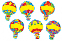 Accent Cards Hot Air Balloons