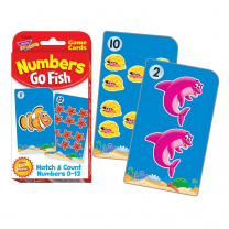 Numbers Go Fish Pocket Cards