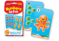 Numbers Go Fish Flash Cards