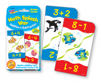 Maths Splash War Addition & Subtraction Cards