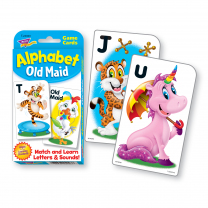 Alphabet Old Maid - Animals