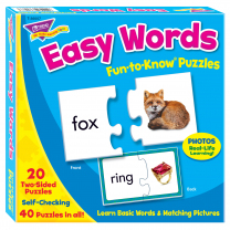 Easy Words Fun-to-Know Puzzles