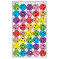 Silly Smiles Sparkle Stickers