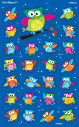 Owl-Stars Stickers