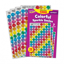 Colourful Sparkle Smiles Sticker Value Pack