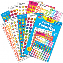 Everyday Favourites Sticker Value Pack