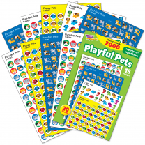 Playful Pets Spot Stickers Variety Pack
